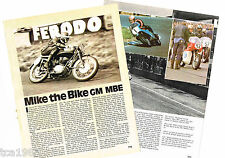 MIKE HAILWOOD MOTORCYCLE RACING  Article / Photo's / Picture