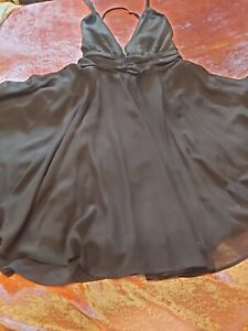 Hellbunny vixen marilyn monroe circular black dress size xl halter neck
