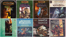 1000+ books of DUNGEONS & DRAGONS - Collection on 5 DVDs (D&D) Modules Adventure