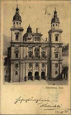 Salzburg Österreich Austria AK 1904 Dom Kirche Kathedrale Gotteshaus Gebäude