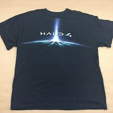 HALO 4 Gamming Gamer Microsoft 2012 Black XL Short Sleeve T-Shirt