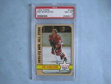 1972/73 TOPPS NHL HOCKEY CARD #129 PAT STAPLETON AS PSA 8 NM/MT SHARP!! 72/73