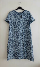 GAP Denim Floral Burn-out pattern Dress Size M - Brand new with tags