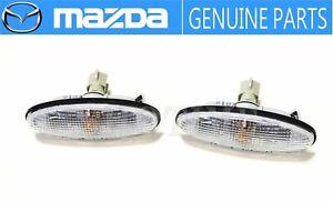 MAZDA GENUINE 94-03 RHD RX-7 FD3S Front Fender Turn Signal Lamp Light Set JDM