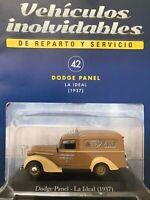Dodge Van (1936) Confitería Ideal de Banfield Diecast Car 1:43 Service Cars Arg