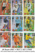 Panini Adrenalyn XL Fifa World Cup 2010 -{select your}- Star Players Foil cards