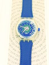 SWATCH MUSICALL Tone in Blue SLK100 1993 Jean Michel Jarre NIB collectors watch
