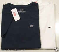 Vineyard Vines Women's S/S Embroidered Whale Logo Crew-Neck T-Shirt