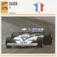 1977-1978 LIGIER JS7 Racing Classic Car Photo/Info Maxi Card