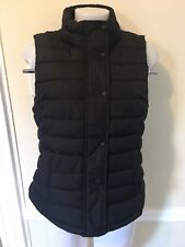 GAP  Puffer Vest Women's Warmest Quilted Size Medium M Black Outerwear NWT