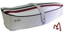 Sella Vespa 125 / 150 Sprint con fascia tricolore bianca