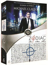 Coffret 2 DVD Michael Clayton avec Clooney + Zodiac Neuf