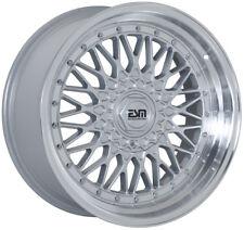 17X8.5 +20 ESM-002R SL 4x100 BMW E30 Mini Copper Maxda Miata Honda Acura