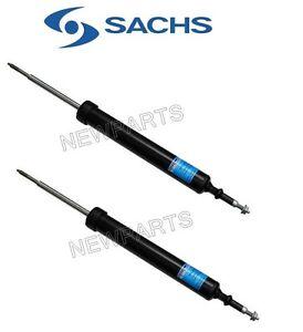 2 OEM Sachs Left+Right Front Struts Shocks Absorber Dampers Assembly Set for BMW