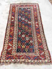 3x7ft. Antique Tribal Design Luri Wool Rug