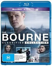 The BOURNE Collection Identity / Supremacy / Ultimatum / Legacy : NEW Blu-Ray
