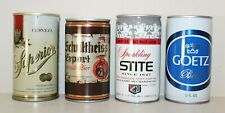 New ListingLot of 4 Beer Cans Empty Cerveza Superior, Schultheiss, Sparkling Stite, Goetz
