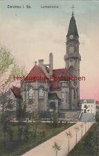 (108162) AK Zwickau i.Sa., Lutherkirche, 1910er