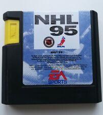 Jeu vidéo Megadrive MD Genesis, NHL 95, hockey, loose, console vintage, Sega