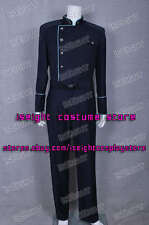 Battlestar Galactica Costume Commander Officer Uniform Jacket With Blue Trim