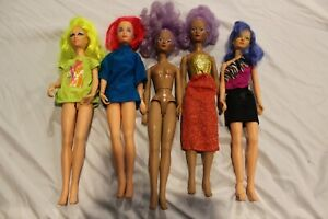 Hasbro Jem and the Holograms Doll Lot of five