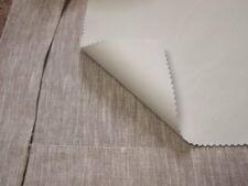 "PREMIUM QUALITY 55""/140CM WIDE - 3 Pass THERMAL BLACKOUT CURTAIN LINING FABRIC"