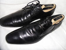 ALDO MEN'S BLACK LEATHER LACE UP FORMAL SHOES  SIZE UK 10 EU 44  VGC