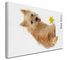 More details for cairn terrier 'happy easter' x-large 30