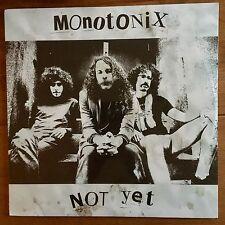 "Monotonix - Not Yet 12"" Vinyl Lp Sealed"