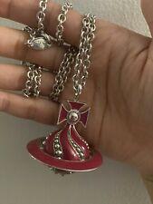 Vivienne Westwood Rare Large Orb Necklace. 100% Authentic.