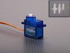 Tg9e turnigy 9g / 1,5 kg / 0.10 sec eco Micro Servo Pour RC Avion Hélicoptère Bateau