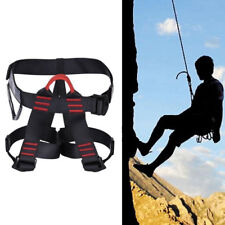 Safety Rock Tree Climbing Rappelling Harness Seat Professional Sitting Bust Belt