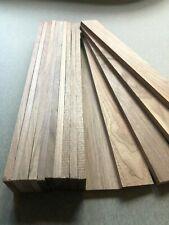 Walnut TImber - Natural Wood - Hardwood 20 Pieces 48mm X 10mm X 400mm Long