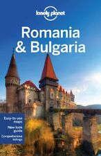 Lonely Planet Romania & Bulgaria (Travel Guide) by Watkins, Richard 1741799449