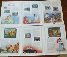Disney Dominica The Little Mermaid Story and Stamps