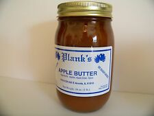 Planks Home Made Apple Butter Sugar Free 16 oz. Pint Amish Country
