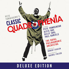 TOWNSHEND BOE IDOL DANIELS PHILHARMONIC ORCHESTRA QUADROPHENIA CD NEW & DVD SET