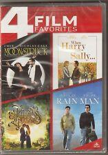 Moonstruck / When Harry Meet Sally / Rain Man / The Princess Bride DVD BRAND NEW