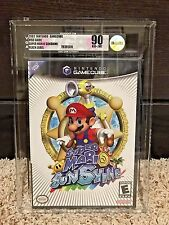Nintendo GameCube GC - 2002 SUPER MARIO SUNSHINE - New Sealed VGA 90 Gold!