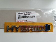 Toyota Supra JZA80 Genuina Placa Emblema Del Portón Trasero Arranque 75441-14190 se adapta a