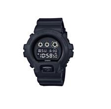*BRAND NEW* Casio G-Shock Military Black Reverse LCD Resin Watch DW6900BB-1A