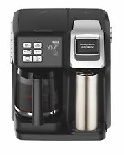 Hamilton Beach FlexBrew 2-Way Coffee Maker 12-Cup Carafe & Pod Brewer 49976