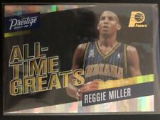 Reggie Miller 2017-18 Prestige All Time Greats Horizon Parallel Indiana Pacers