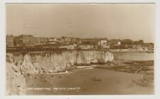 Kent postcard - Broadstairs, the Cliffs - RP - P/U 1935