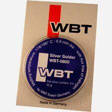 42g WBT-0800 Audio Lötzinn Blei Silberlot Lot 4% Ag Silber Silberlötzinn 854268