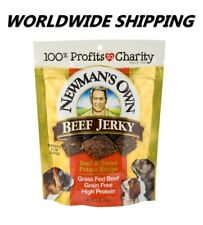 Newman's Own Beef Jerky Beef & Sweet Potato Dog Treats 5 Oz WORLDWIDE SHIPPING