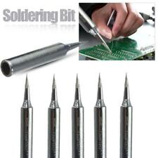 5pcs Lead-free Solder Tip Replacement Soldering Iron Tip Welding Tool Kit Set