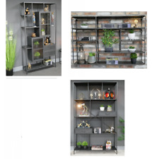 CK Range : Metal Industrial Display and Shelf Cabinet : Wall Shelf Unit