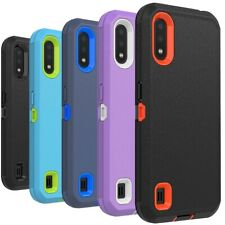 For Samsung Galaxy A01 A11 A21 A12 5G Case Shockproof Hybrid Armor Phone Cover