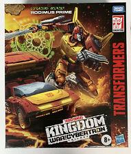 Transformers War for Cybertron Kingdom Commander Class Rodimus Prime WFC-K29